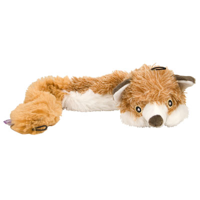 Multipet Bouncy Burrow Buddies™ Fox Dog Toy I007387