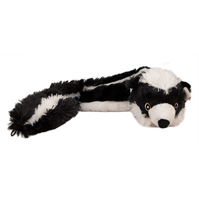Multipet Bouncy Burrow Buddies™ Skunk Dog Toy I007390