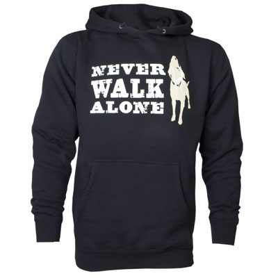 Dog is Good® Never Walk Alone Hoodie I007464B