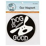 "Dog is Good® BOLO Logo Round Car Magnet 4.5"" I007493"