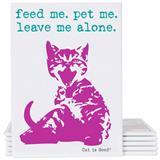 Dog is Good® Cat is Good® Decorative Magnet Feed Me, Pet Me I007499