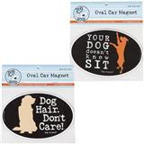Dog is Good® Oval Car Magnet I007511b
