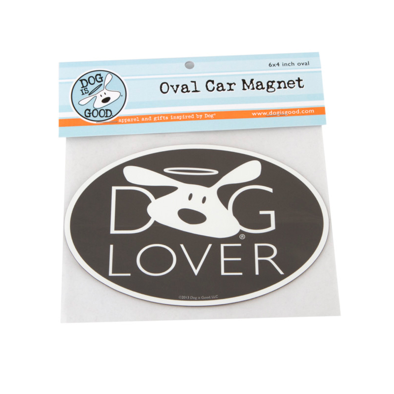 Dog is Good® Oval Car Magnet Bolo Logo I007511