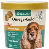 NaturVet® Omega-Gold Plus Salmon Oil Soft Chews 90 ct I007837
