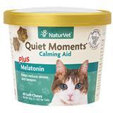 NaturVet® Quiet Moments® Plus Melatonin Cat Soft Chews for Cats 60ct I007838