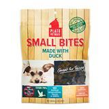 Plato® Small Bites Dog Treats Duck I007935b