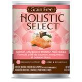Holistic Select® Grain Free Salmon, Mackerel & Whitefish Page Recipe Dog Food 13 oz. I007959