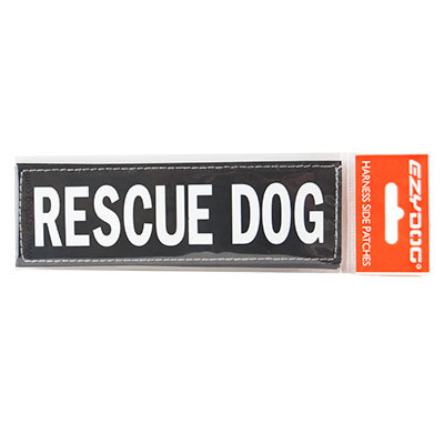 EzyDog® Convert Custom Side Badge Rescue Dog I007971