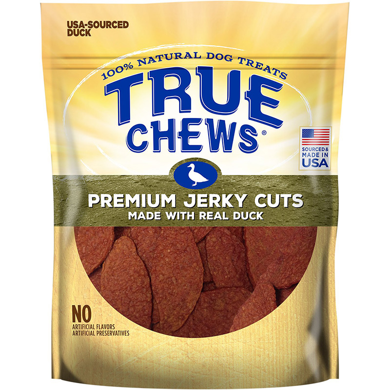 True Chews® Premium Jerky Cuts™ Dog Treats made with Real Duck 12 oz I008035