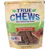 True Chews® Premium Treat Bars Dog Treats made with Real Beef, Brown Rice & Carrots 12 oz. I008044