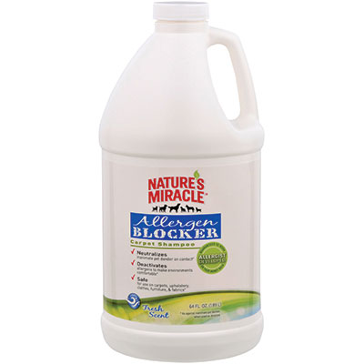 Nature's Miracle®  Allergen Blocker Carpet Shampoo 64 oz. I008157
