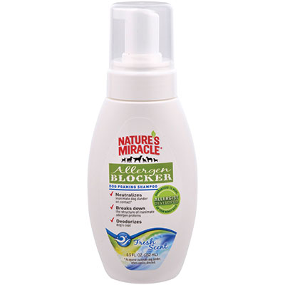 Nature's Miracle® Allergen Blocker Dog Foaming Shampoo 8.5 oz. I008160