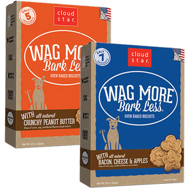 Cloud Star® Wag More Bark Less® Oven-Baked Biscuits 16 oz I008309b