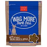 Cloud Star® Wag More Bark Less® Soft & Chewy Dog Treats with Bacon, Cheese and Apple 6 oz. I008318