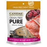 CANIDAE® Grain Free PURE Chewy Treats with Wild Boar & Cherry 6 oz. I008351
