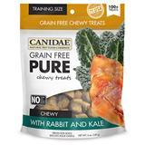 CANIDAE® Grain Free PURE Chewy Training Treats with Rabbit & Kale 6 oz. I008357