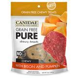 CANIDAE® Grain Free PURE Chewy Treats with Bison & Pumpkin 6 oz. I008359