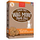 Cloud Star® Wag More Bark Less® Grain Free Oven-Baked Biscuits Peanut with Butter & Apples 14 oz. I008366