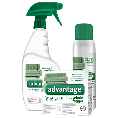 Advantage® Household Sprays & Fogger I008382b