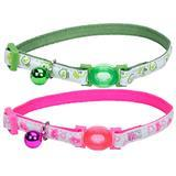 "Coastal®Safe Cat® Glow in the Dark Adjustable Breakaway Collar 3/8"" X 8""-12"" I008466b"