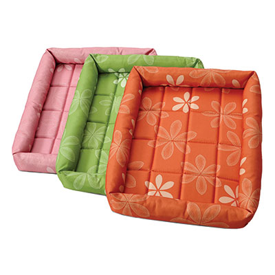 MidWest® Quiet Time® Defender™ Series Floral Paradise Beds with Teflon® I008559b