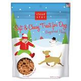 Cloud Star® Holiday Soft & Chewy Treats for Dogs Gingerbread Flavor 5 oz. I008647