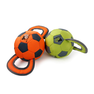 All For Paws Outdoor Dog Ballistic Handle Soccer Ball I008738