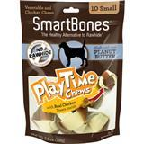 SmartBones® The Healthy Alternative to Rawhide® PlayTime Chews™ Peanut Butter I008863b