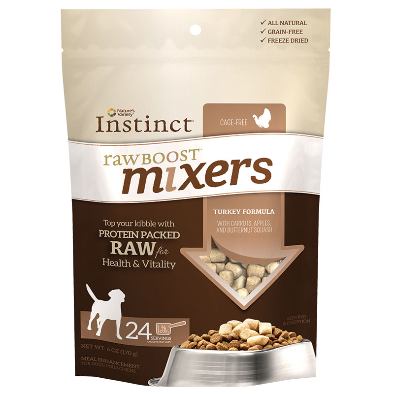 Nature's Variety® Instinct® Raw Boost® Mixers Dog Food Turkey I008910