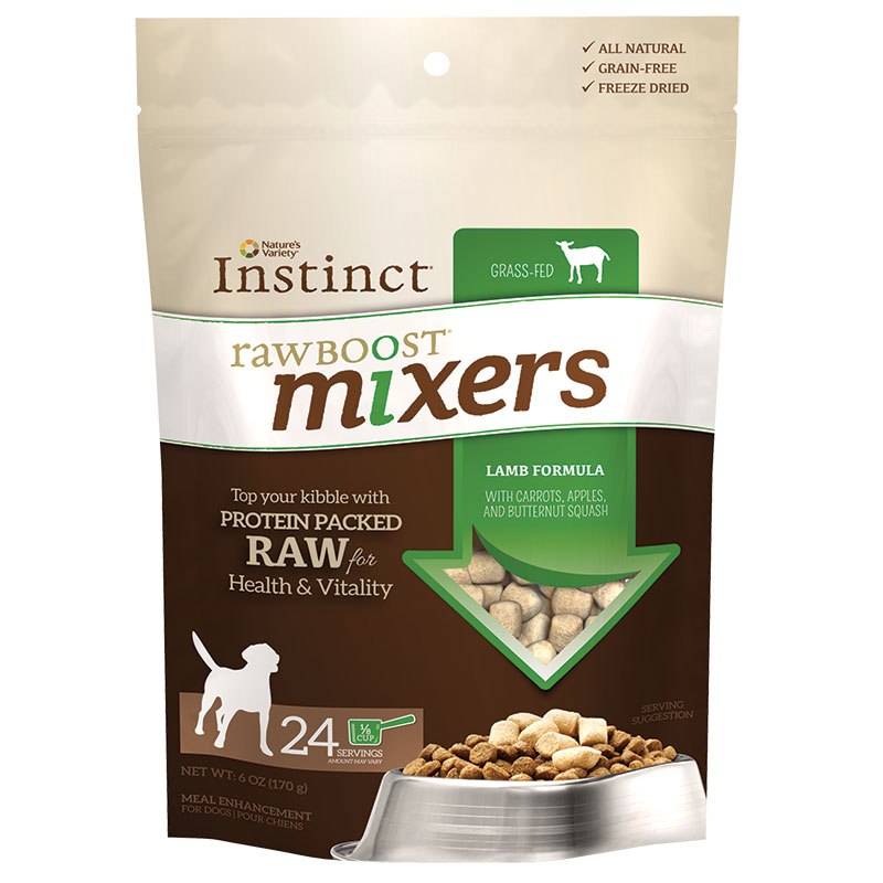 Nature's Variety® Instinct® Raw Boost® Mixers Dog Food Lamb I008913b