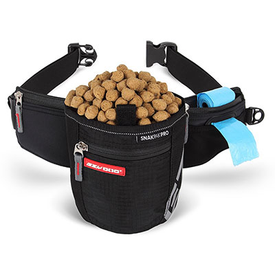 EzyDog® SnakPak-Pro Black Treat Bag for Dogs I009067