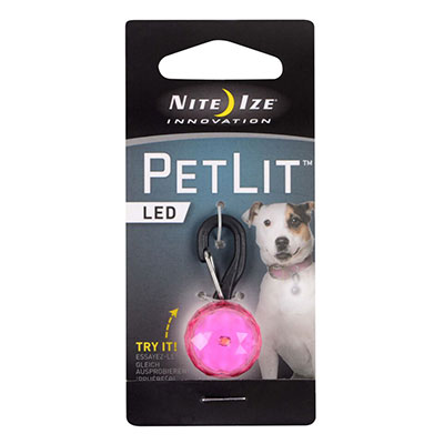 Nite Ize Innovation PetLit LED Red Hydrant  I009147