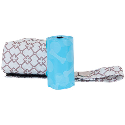 Bags on Board® Waste Pick-up Fashion Dispenser- Blue Diamond I009300