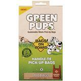 Bags on Board® Green Pups™ Sustainable Waste Pick-up Handle-Tie Bags 100ct I009302