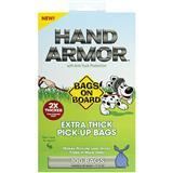 Bags on Board® Hand Armor™ Pick-Up Bags with Anti-Yuck Protection 100ct I009304