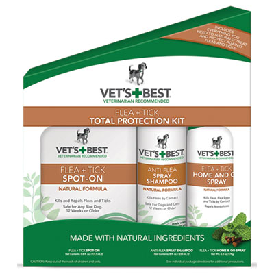 Vet's + Best™ Flea &Tick Total Protection Kit I009308