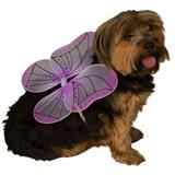 Rubie's® Pet Shop™ Boutique Purple Fairy Wings Halloween Dog Costume I009379b