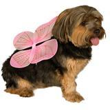 Rubie's® Pet Shop™ Boutique Pink Fairy Wings Halloween Dog Costume I009386b