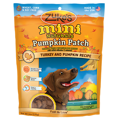 Zuke's® Mini Naturals™ Pumpkin Patch Turkey and Pumpkin Recipe 6 oz. I009490