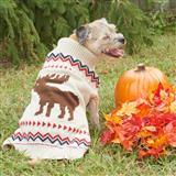 Fashion Pet™ Outdoor Dog Moose Sweater I009539b