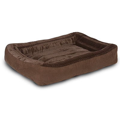 "Carpenter Co.""Daryl"" Bolstered Pet Bed I009627"