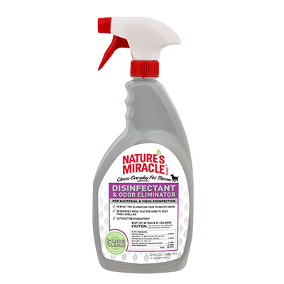 Nature's Miracle® Disinfectant & Odor Eliminator 32 oz. I009634