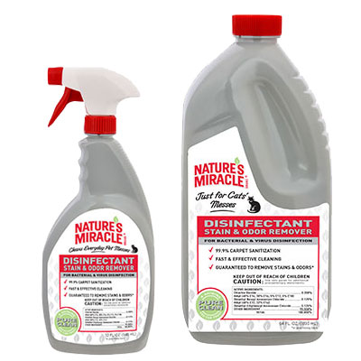 Nature's Miracle® Just for Cats Disinfectant Stain & Odor Remover I009637b