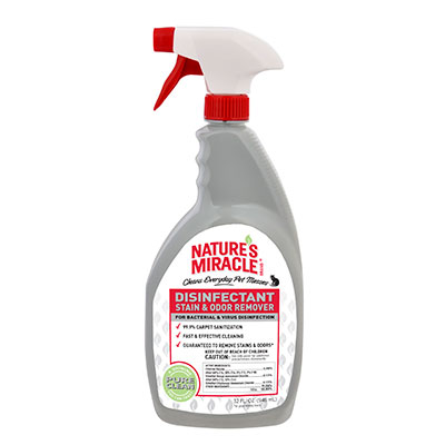 Nature's Miracle Just for Cats Disinfectant Stain & Odor Remover 32 oz. I009637