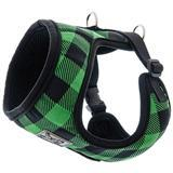 RC Pet Products Cirque Harness Green Buffalo Plaid Pattern for Dogs I009744b