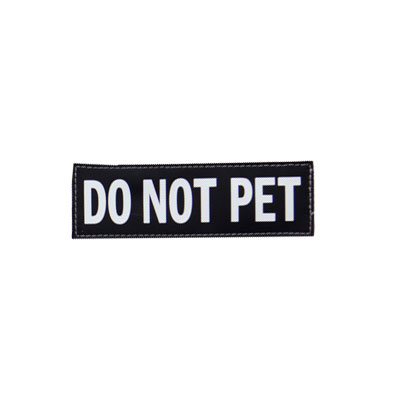 EzyDog® Side Badge Do Not Pet I009824