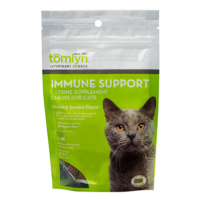 Tomlyn™ Immune Support L-lysine Supplement Chews for Cats 30ct I009935