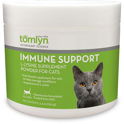Tomlyn™ Immune Support L-lysine Supplement Powder for Cats 3.5 oz. I009937