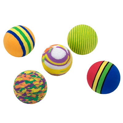 Coastal® Rascals® Rainbow Ball Cat Toy I009961