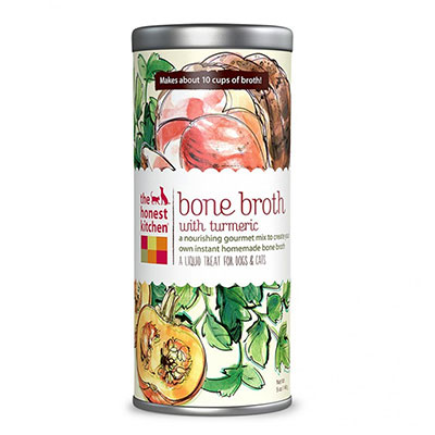 The Honest Kitchen® Beef Bone Broth with Turmeric Nourishing Treat 5 oz.  I010314